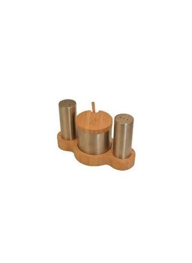 Bambum Spice 3+0 Baharatlıklı Masa Düzenleyici Renkli